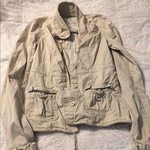 Abercrombie Size Large khaki Stylish Jacket